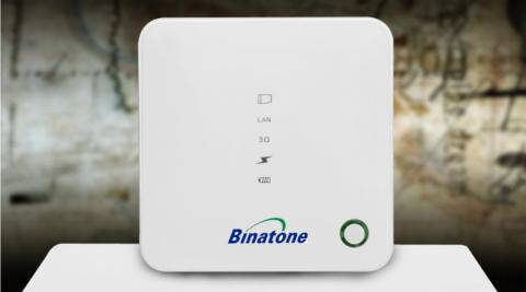 binatone 3G SIM-based Mifi Router with Turbo Power Bank