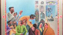 Palette Generator: How Bhupen Khakhar's Waiting for Darshan was acquired