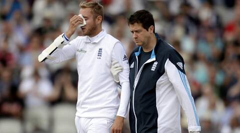 Reports doing rounds suggested that Stuart Broad will play with a mask during the fifth Test (Source: Reuters)