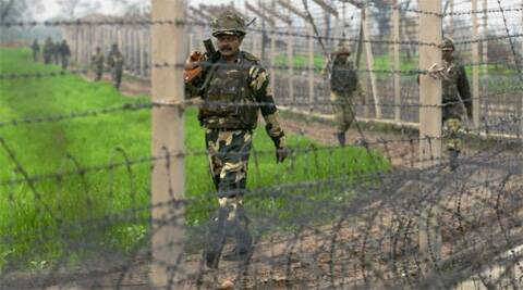 BSF jawan Satyasheel Yadav Yadav was out on a patrol when the boat he was travelling in swept away by a strong current of the Chenab river. (Source: PTI/file)