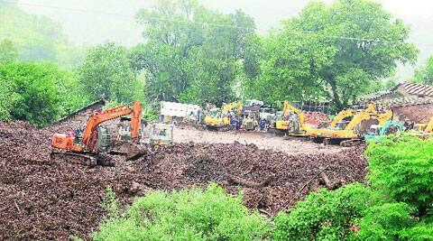 A survey of landslide-prone areas will be conducted