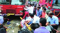 PMPML  bus hits  2-wheeler, 2 students hurt