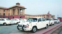 Govt clears road for other cars as Ambassador drives out