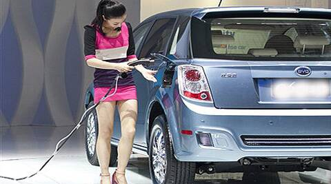 Car sales in India had fallen for the second consecutive fiscal in 2013-14. (Source: AP)