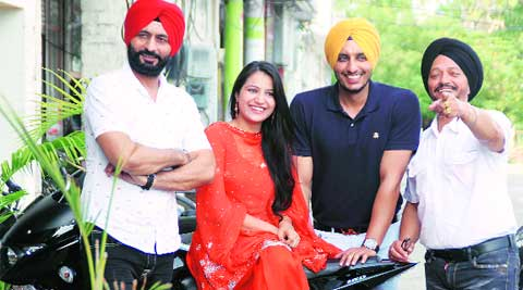 The film cast in Ludhiana on Sunday.