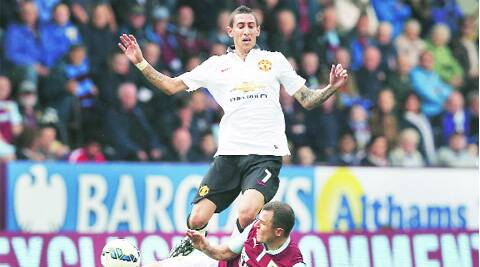 Angel Di Maria's debut failed to inspire  Manchester United to a first win of the season on Saturday.  (Source: Reuters)