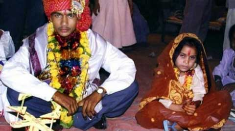 According to a UNICEF report, in India there were more child marriages in rural areas than urban. (Source: PTI)