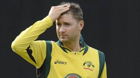 Clarke returned to Syndey after the Zimbabwe game to undergo a scan. (Source: Reuters)