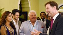 British deputy PM  Nick Clegg does mahurat shot of Onir's 'Veda'