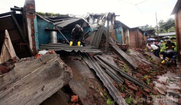 Today in pics: Wall collapse kills two in Mumbai