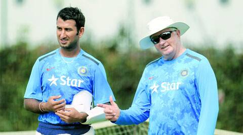 Fletcher couldn't put a lid on India's repeated top-order failures. Neither did he seem to have a say in Dhoni's unconventional field settings.