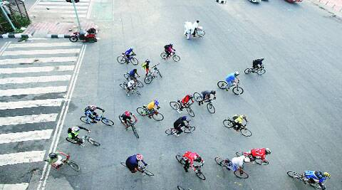 Harsh Vardhan said cycling should be promoted for a healthy lifestyle. ( Source: Express archive )
