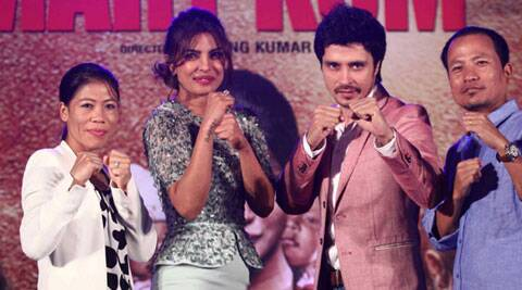 "Darshan Kumar is a debutante and he is sharing the screen space with none other than Priyanka Chopra as her onscreen husband in his debut movie ""Mary Kom"". But he is confident to get noticed due to the importance of his character in the biopic."