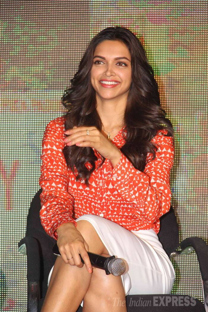 Deepikawill also be seen in Farah Khan's big film of the year, 'Happy New Year'. (Source: Varinder Chawla)