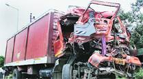 6-month-old among 4 dead, 4 hurt as canter collides with truck on Noida Expressway