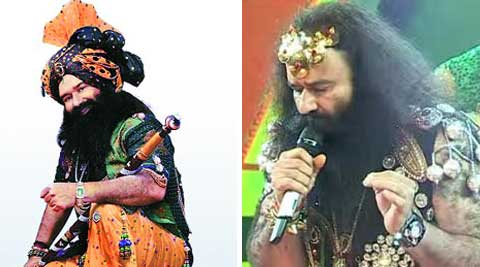 Dera chief is currently busy shooting for a Hindi movie that has him in the lead.