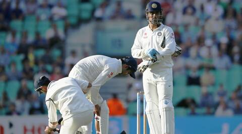 The slip cordon of the Indian team was more of a 'sleep' cordon, as they dropped  many catches and let quite a few boundaries go through. (Source: AP)