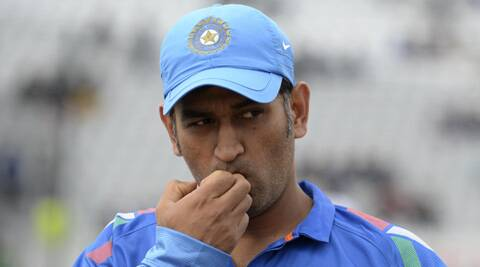 Dhoni, with this win at Nottingham (his 90th as captain), has equalled an Indian record held by Mohammad Azharuddin. (Source: Reuters)