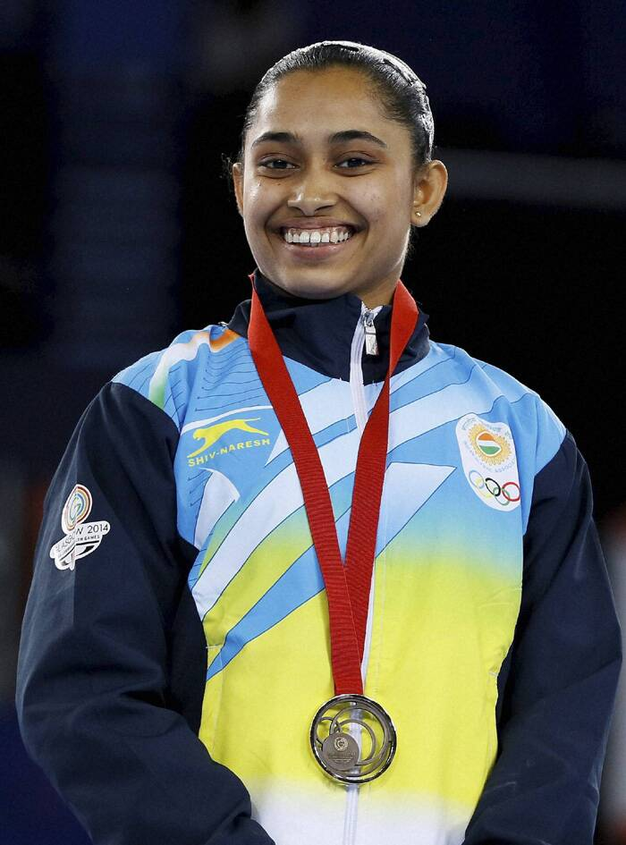 It was a historic day for India in gymnastics as well with Dipa Karmakar becoming the first Indian women to win a medal in gymnastics (artistic). She clinched the bronze in women's vault event. (Source: AP)