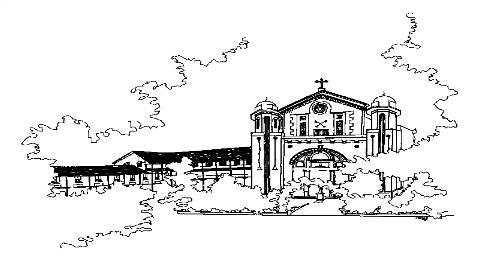 (From top) A sketch of the 160-year-old Parish St Peter's Church.