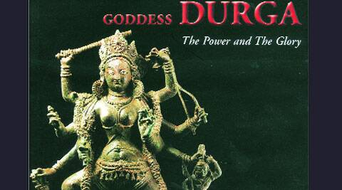 The Tengpora Durga, on the cover of art expert Pratapaditya Pal's book.