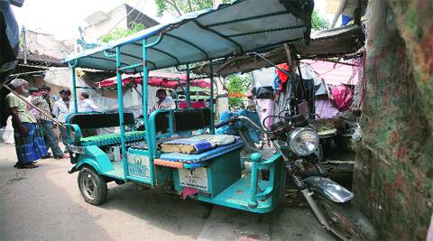 Petition says ban will affect the livelihood of thousands of drivers. (Source: Express photo by Amit Mehra)