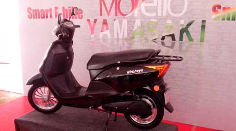 Morello Yamasaki's new E-bike 'Nirbhaya' targets women riders