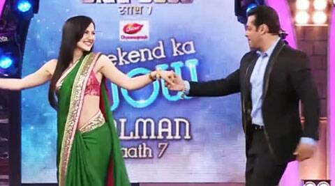 Elli Avram, who gained popularity in India with her stint in 'Bigg Boss', says she will watch the new season of reality show only for it's host and 'good friend' Salman Khan.