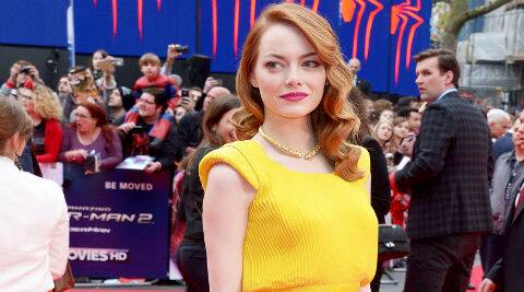 Emma Stone will make her Broadway debut as singer Sally Bowles. (source: AP)