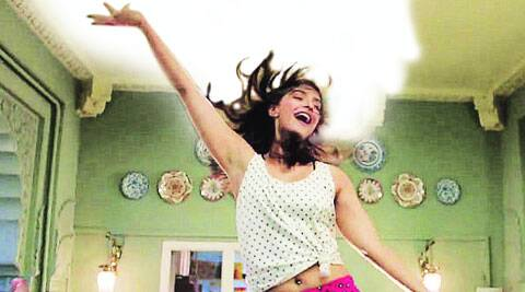 Sonam Kapoor in a still from the song