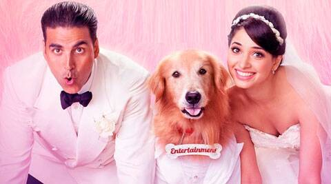 'Entertainment' movie review.