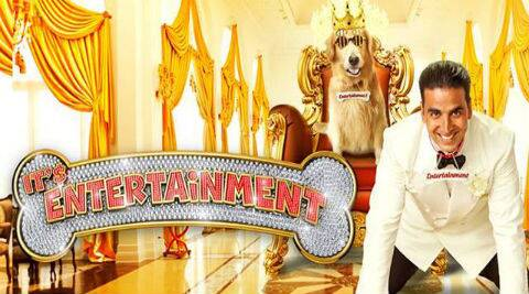 "Akshay Kumar-starrer ""Entertainment"" has earned over Rs.20 crore in the first two days of its release."