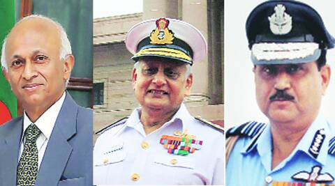 Ranjan Mathai, Nirmal Verma, A K Browne (From Left to Right)