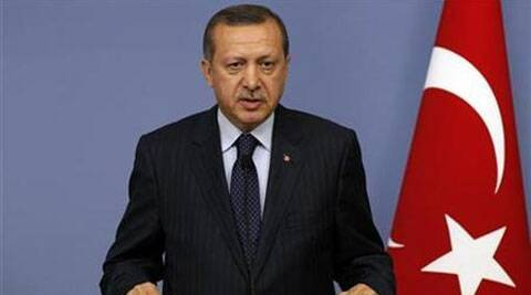 Recep Tayyip Erdogan is stepping down as prime minister and being installed as president on Thursday. (Source: Reuters)