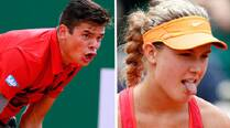 Looking to scale the tennis peak, Canada roots for Eugine Bouchard and Milos Raonic