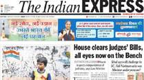 Express 5: House clears judges' Bills, all eyes now on the Bench; I-Day film: Rare clips of Savarkar and S P Mookerjee
