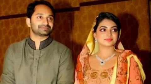 Fahad Fazil and Nazriya Nasim were engaged earlier this year.