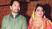 Actors Fahad Fazil, Nazriya tie the knot