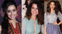 Shraddha, Esha, Kangana at India Bridal Week 2014