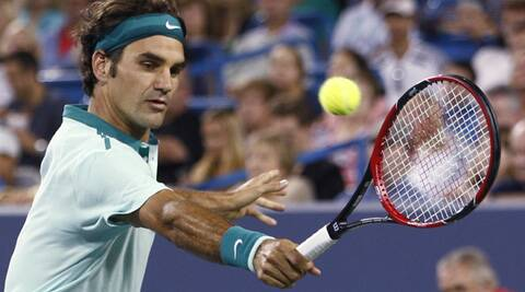 Federer will play sixth-seeded David Ferrer, a 6-3, 6-2 winner over Julien Benneteau. (Source: AP)