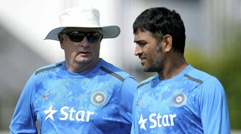 Mahendra Singh Dhoni had said that Duncan Fletcher was still the boss