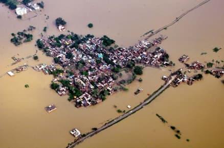 Flood fury in Assam, Uttar Pradesh