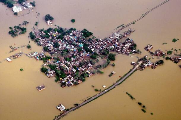 Flood fury in Assam, Uttar Pradesh