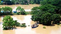 High flood situation warning in Odisha's Keonjhar district