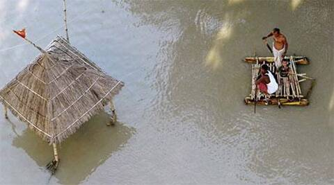 One person drowned in the flood water in the Ghoswari block of rural Patna last night, Joint Secretary in Disaster Management Department (DMD) Sunil Kumar said.