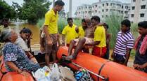 Flood situation slightly improves inOdisha