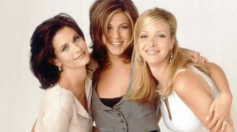 The three actresses, who have remained close friends despite their show going off air 10 years ago.
