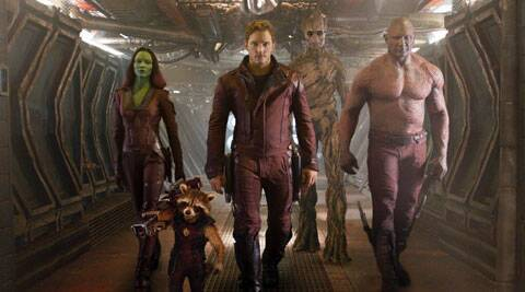 Guardians of the Galaxy review.