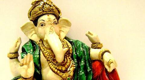 Ganesha idol from The Bombay Store