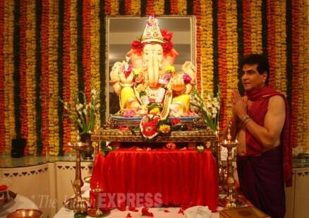 Govinda,  daughter Narmmadda and other celebs celebrate Ganesh Chaturthi